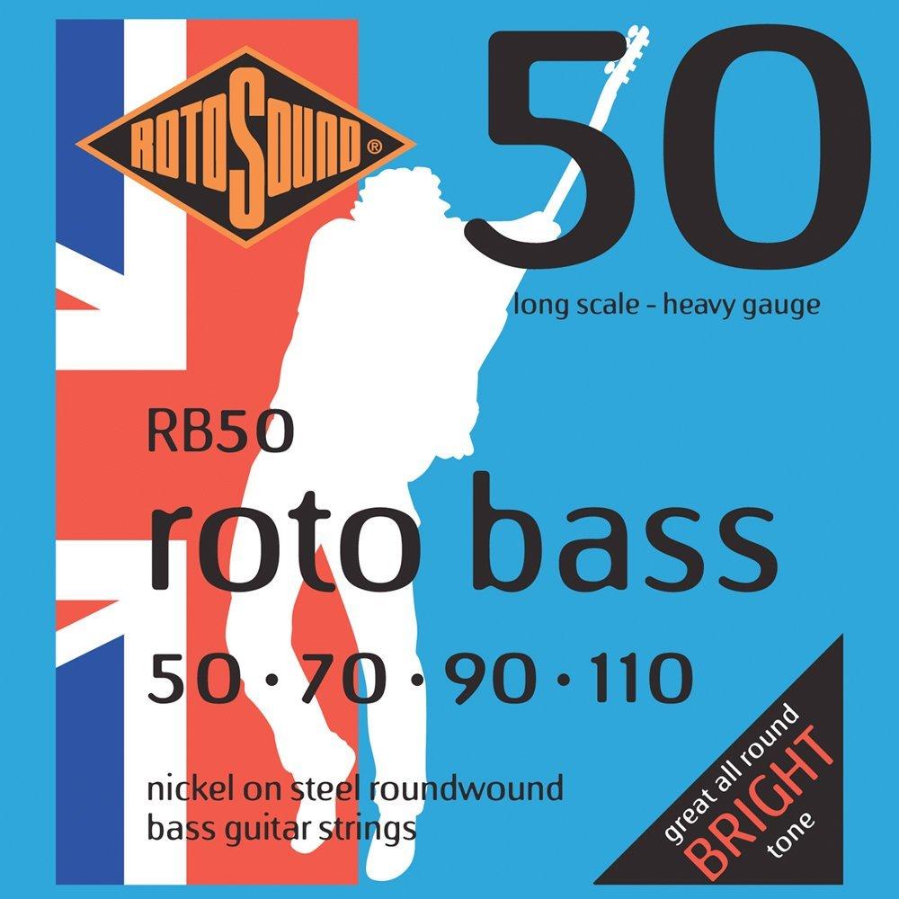 rotosound rb50 nickel on steel roundwound bass guitar strings 50 110 guitarshop folkestone. Black Bedroom Furniture Sets. Home Design Ideas