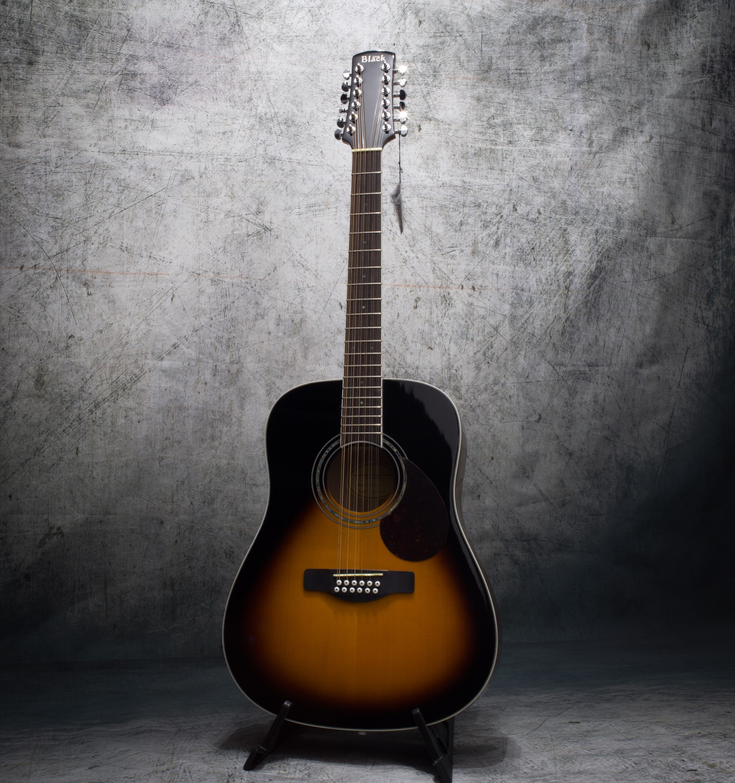 Adam Black 12 String Acoustic Guitar