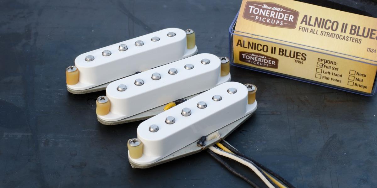 tonerider alnico 2 blues stratocaster guitar pickups trs4 guitarshop folkestone. Black Bedroom Furniture Sets. Home Design Ideas